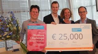 Mercurna wins Health Holland Venture Challenge